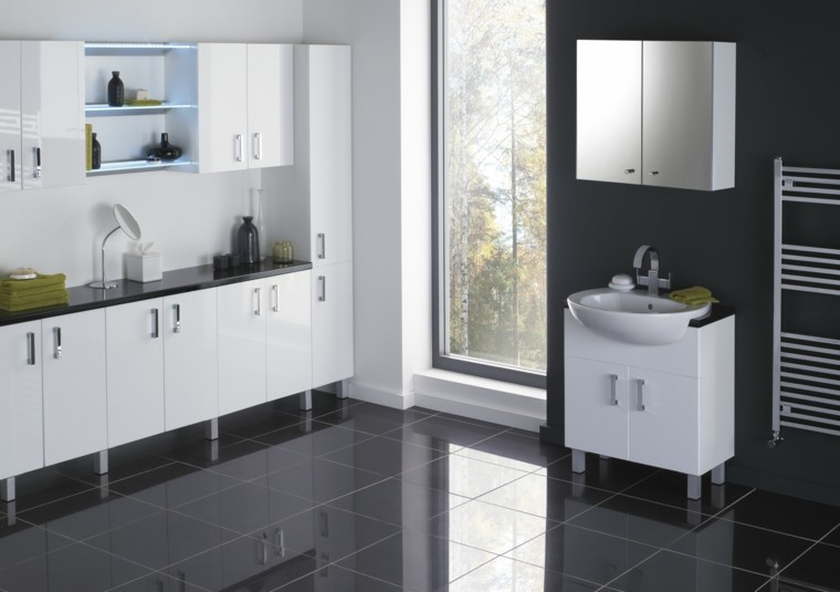 muebles de baño baratos negro