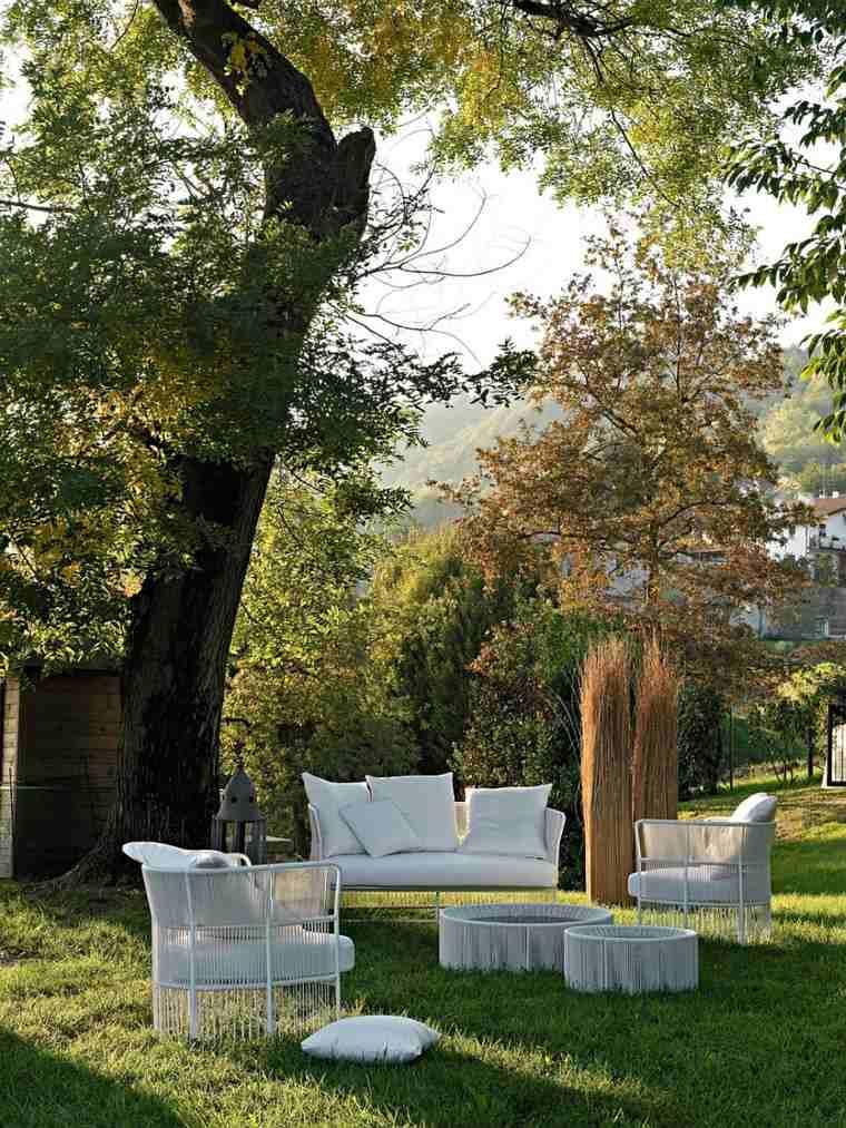 muebles de diseño ideas originales jardin moderna coleccion