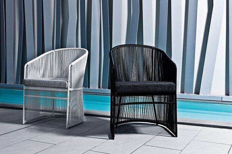 muebles de diseño sillas altas comodas ideas modernas