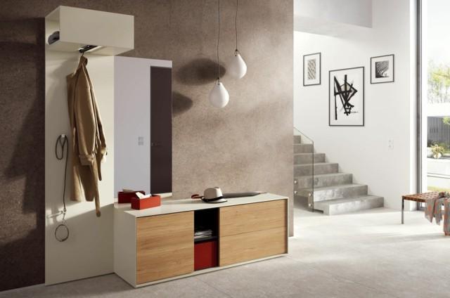 Muebles de entrada ideas que invitan a remodelar - Mobile entrata moderno ...