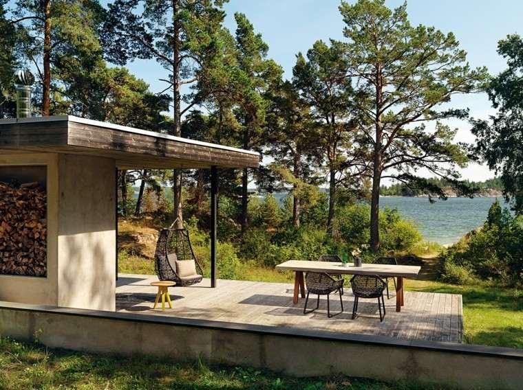 muebles de jardín aluminio patio muebles diseño huevo