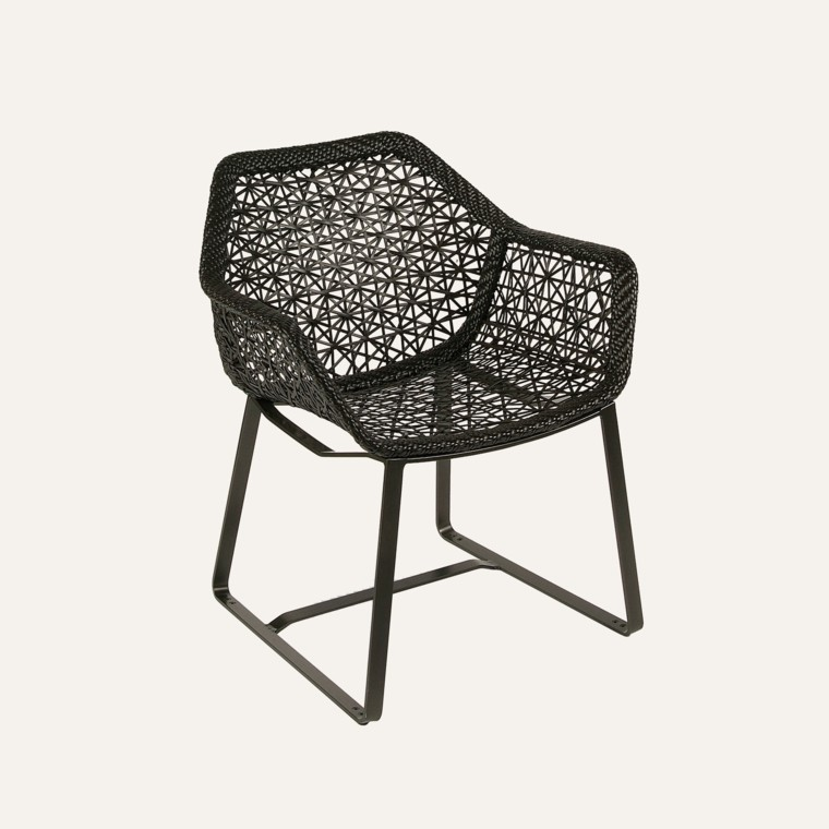muebles de jardín aluminio porotex silla diseño