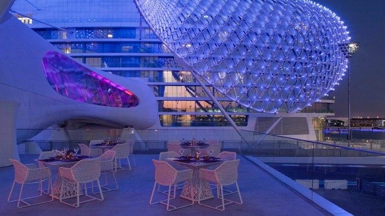 muebles de jardín luces exterior luces ciudad