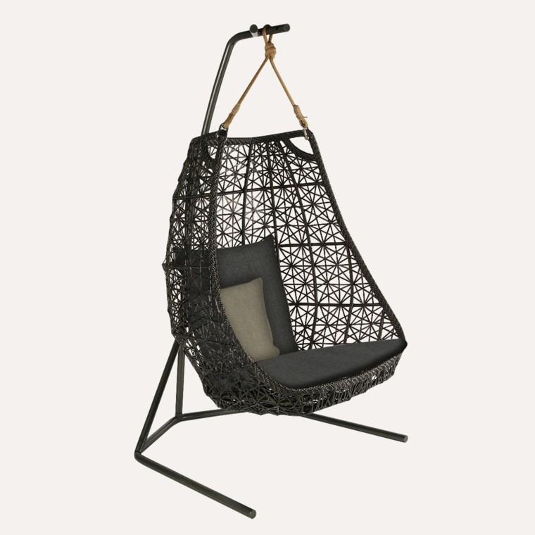 muebles de jardín silla colgante huevo estructura