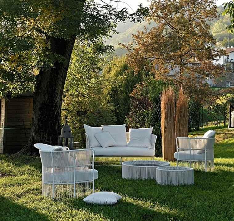 muebles jardin ideas originales perfectas modernas verano
