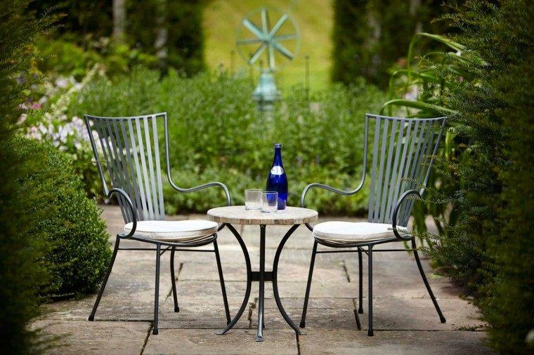 muebles jardin sillas mesa ideas simple tiempo