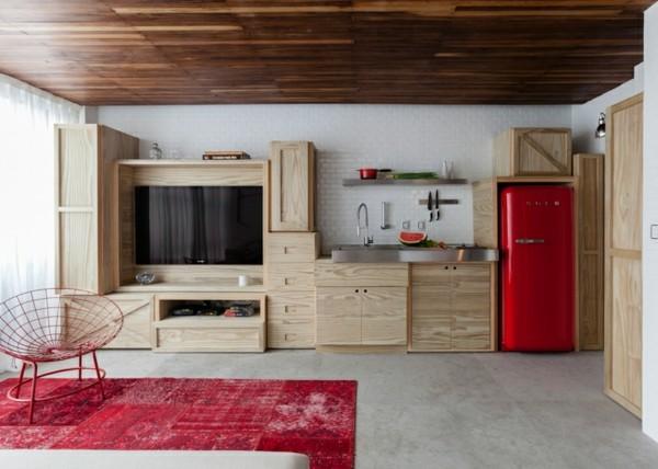 muebles madera no trabajada cocina