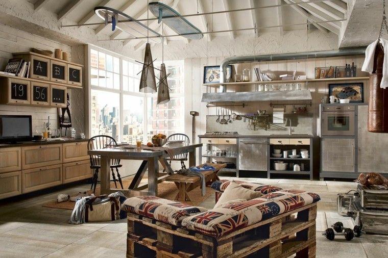 muebles palets pizarra armarios estilo moderna vintage