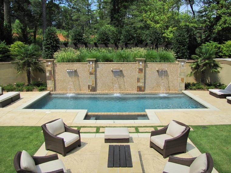 muebles piscina rattan piscina ideas verano