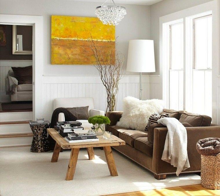 rustico mesa cafe madera sofa comodo diseno