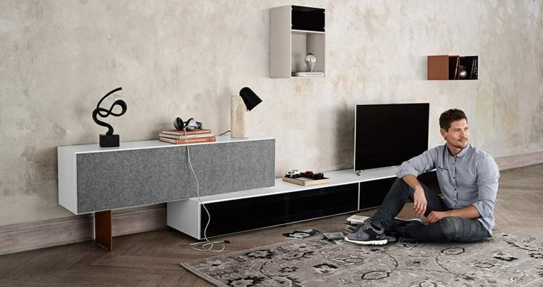 muebles salón piso soltero salón