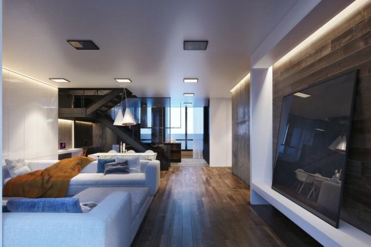muebles sofa diseño led moderno