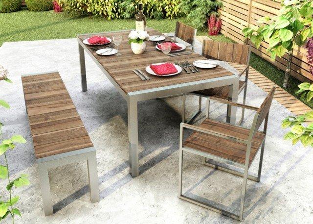 Muebles e ideas de accesorios modernos para el jardín