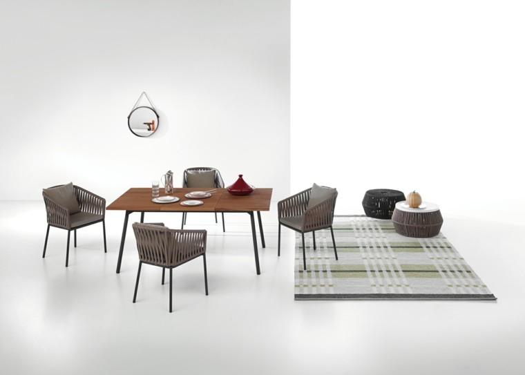 Muebles de jard n elegancia y calidad con kettal for Mesa comedor exterior