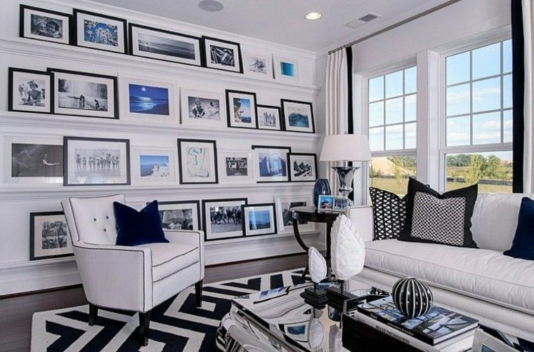 mural alfombra mesa ventana azules
