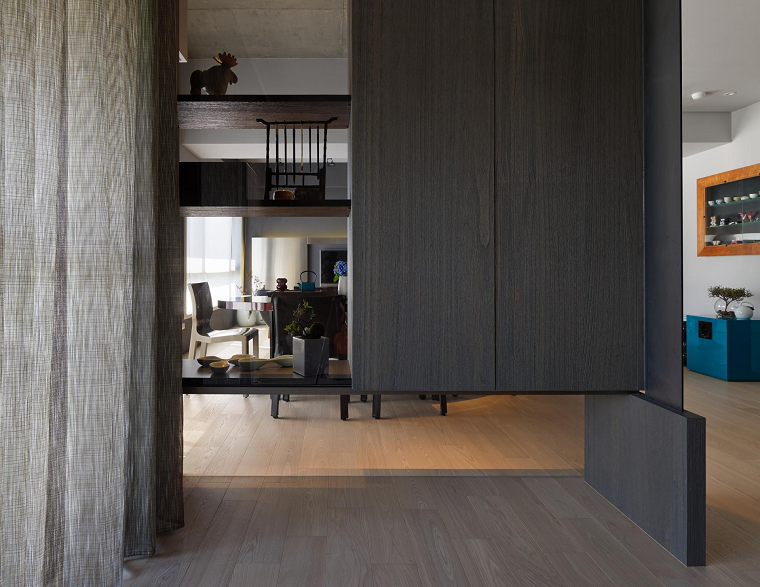 naturaleza armarios madera marron oscuro diseño ideas