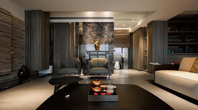 naturaleza marmol cuero madera ideas diseño muebles