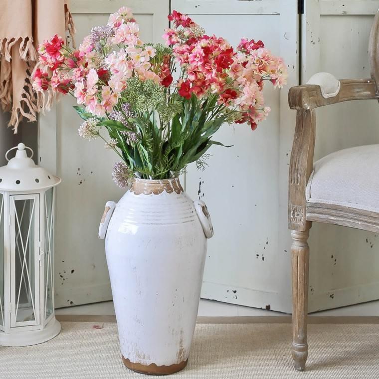 Decoracion Jarrones Grandes ~ Naturalismo en casa con jarrones grandes para tus flores favoritas