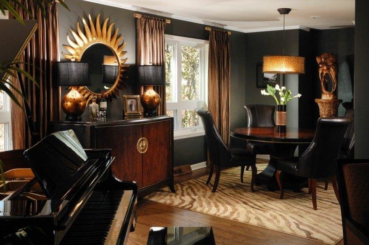 color negro y dorado elegancia para espacios interiores dramatic black gold and brown rooms youtube