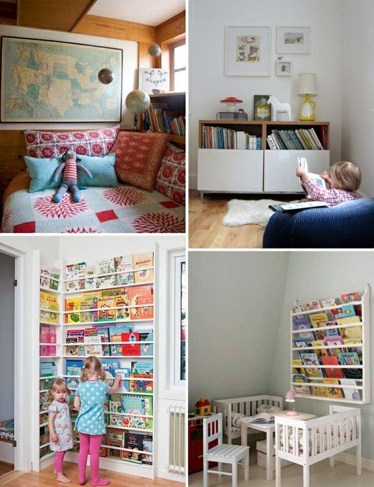 niños juegos lectura moderno habitacion