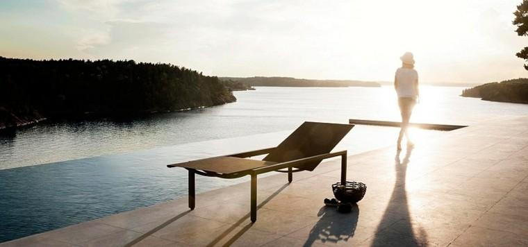 nuevo estilo detalle perfecto piscina moderna