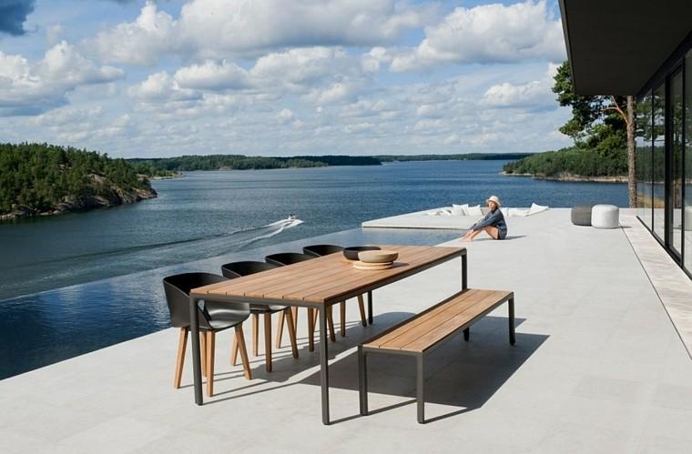 nuevo estilo moderno exterior espacio comer ideas