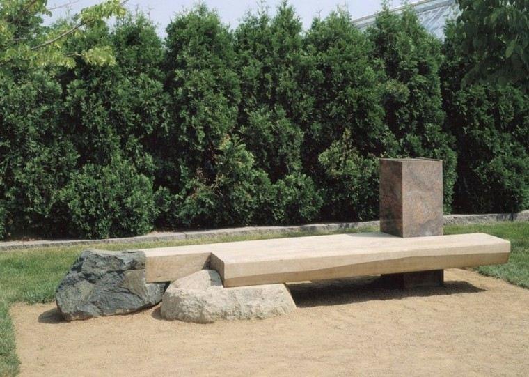 original banco estilo zen oriental