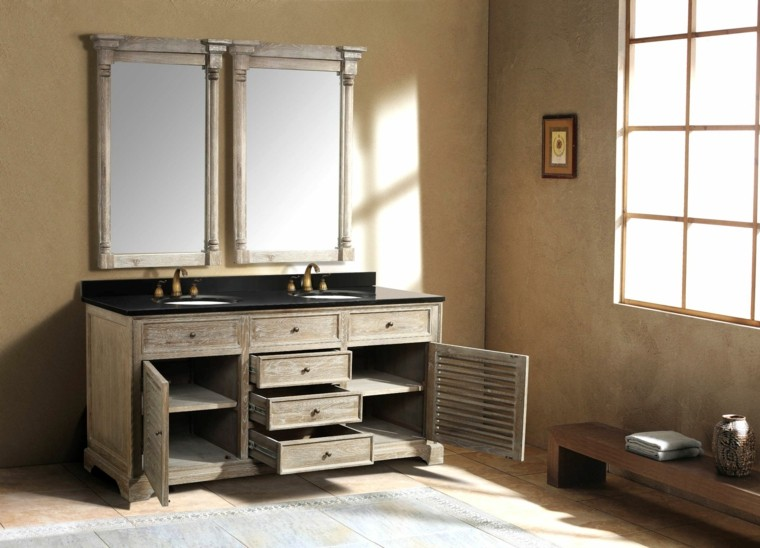 Muebles de ba o baratos para todos los gustos for Muebles de bano rusticos baratos