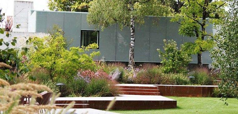 Arquitectura y dise o de jardines modernos for Paisajismo jardines exteriores
