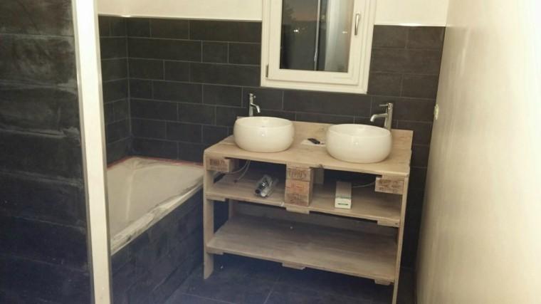 palets madera lavabos baño brico