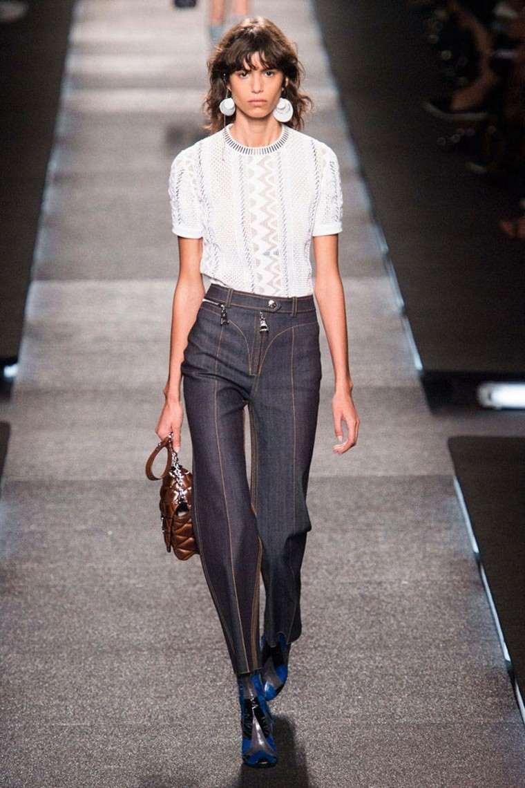 pantalones vaqueros la moda actual