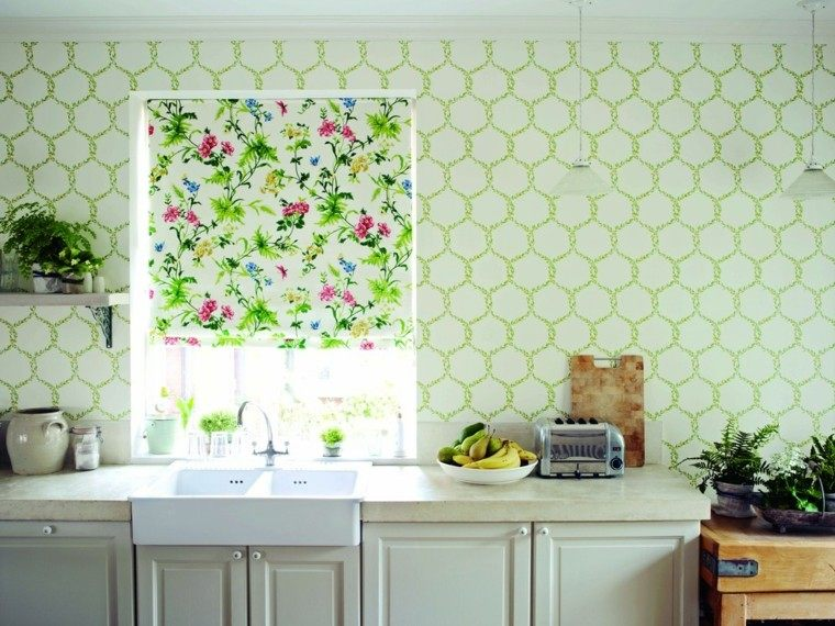Papeles pintados para las paredes de la cocina for Paredes para cocina