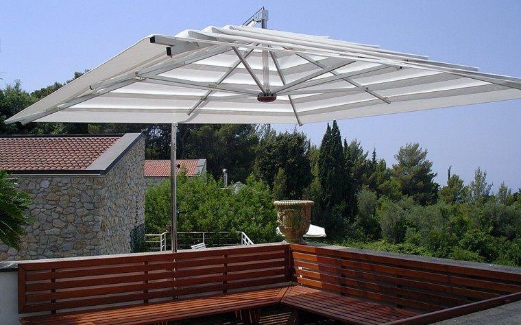 parasol grande terraza patio