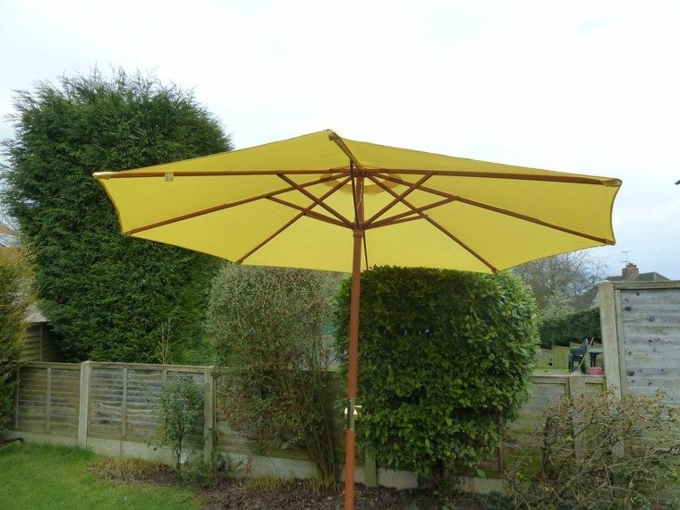 parasol color amarillo oriental