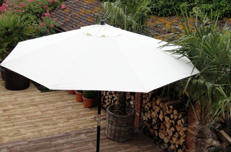 parasoles jardin  estilo moderno