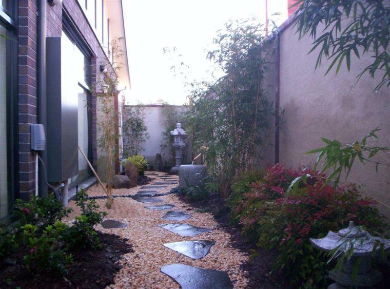 patio estilo  japonés