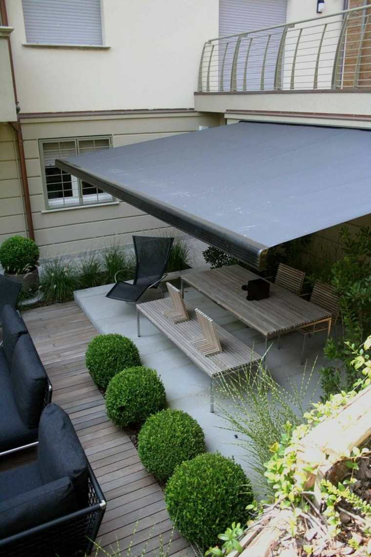patio terraza mesas patio organizado