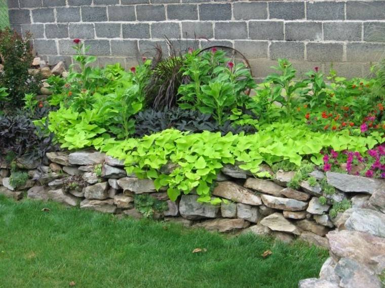 patio terraza paisajismo bonito plantas