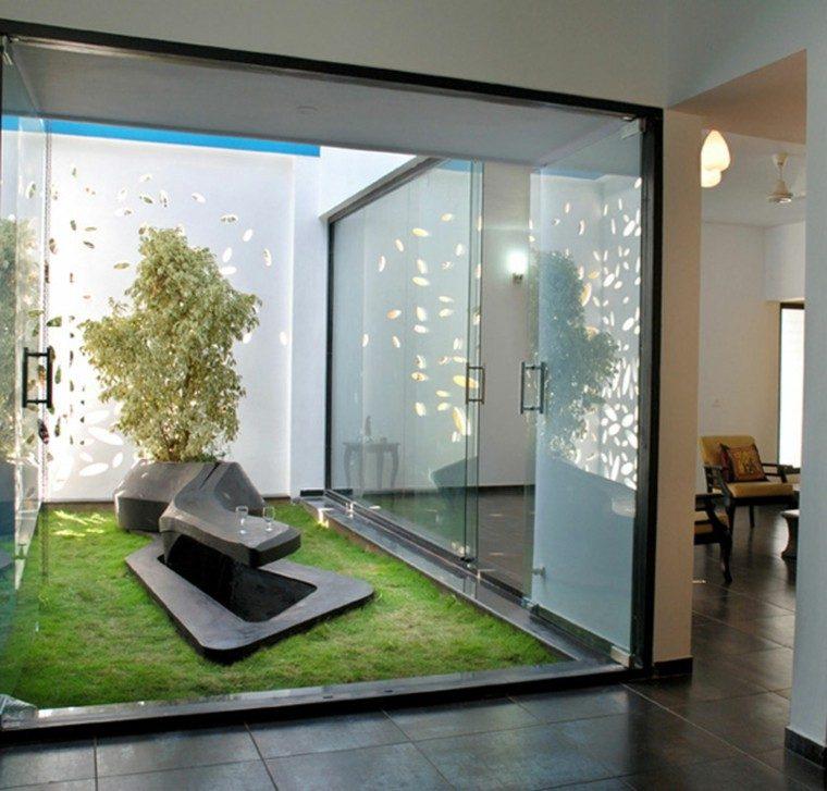 patio estilo zen muy moderno