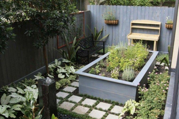 Jardines peque os y patios traseros de dise o nico for Antejardines pequenos