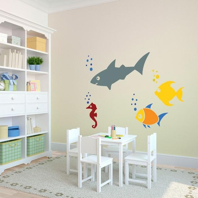 peces chicos decoración interior muebles  sillas