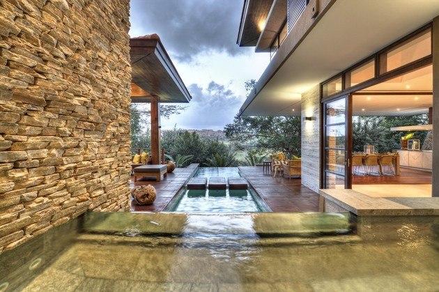 piscina estanque diseño oriental zen