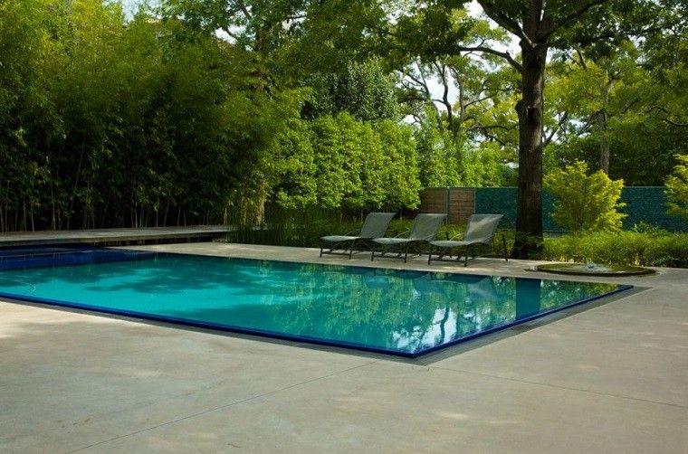 piscina moderna rectangular diseño moderno