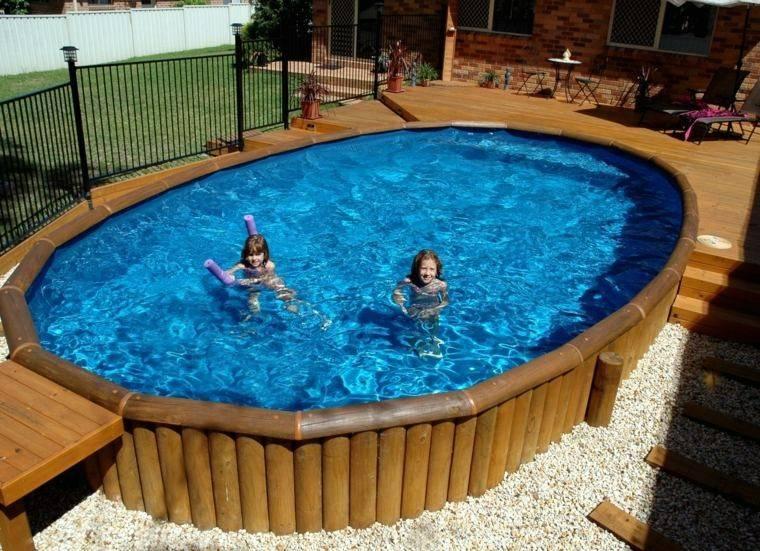 piscina niños juguetes grava desmontable
