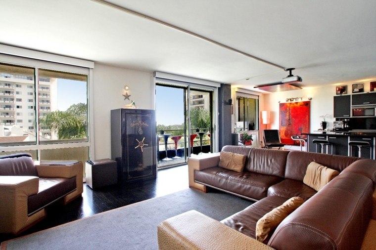 Pisos de solteros ideas para decorar tu nuevo hogar - Decoracion salon moderno ...