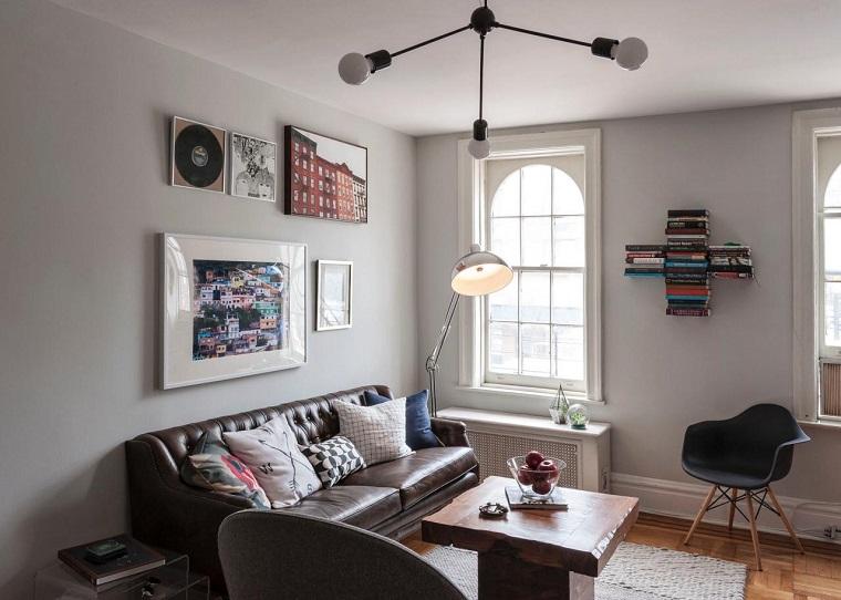 Pisos de solteros ideas para decorar tu nuevo hogar - Piso pequeno moderno ...
