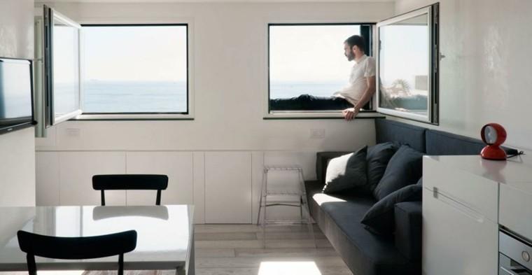 Sala de estar para apartamento de soltero todo un lujo - Piso de soltero ...