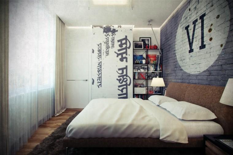 piso soltero cuarto moderno