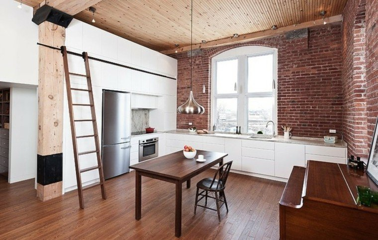 Pisos de solteros ideas para decorar tu nuevo hogar - Cocina comedor ideas ...