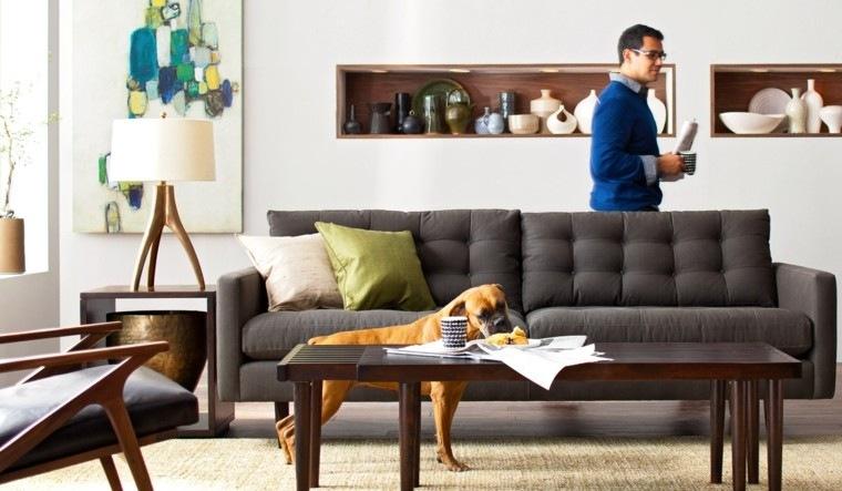 Sala de estar para apartamento de soltero todo un lujo for Diseno de apartamento de soltero